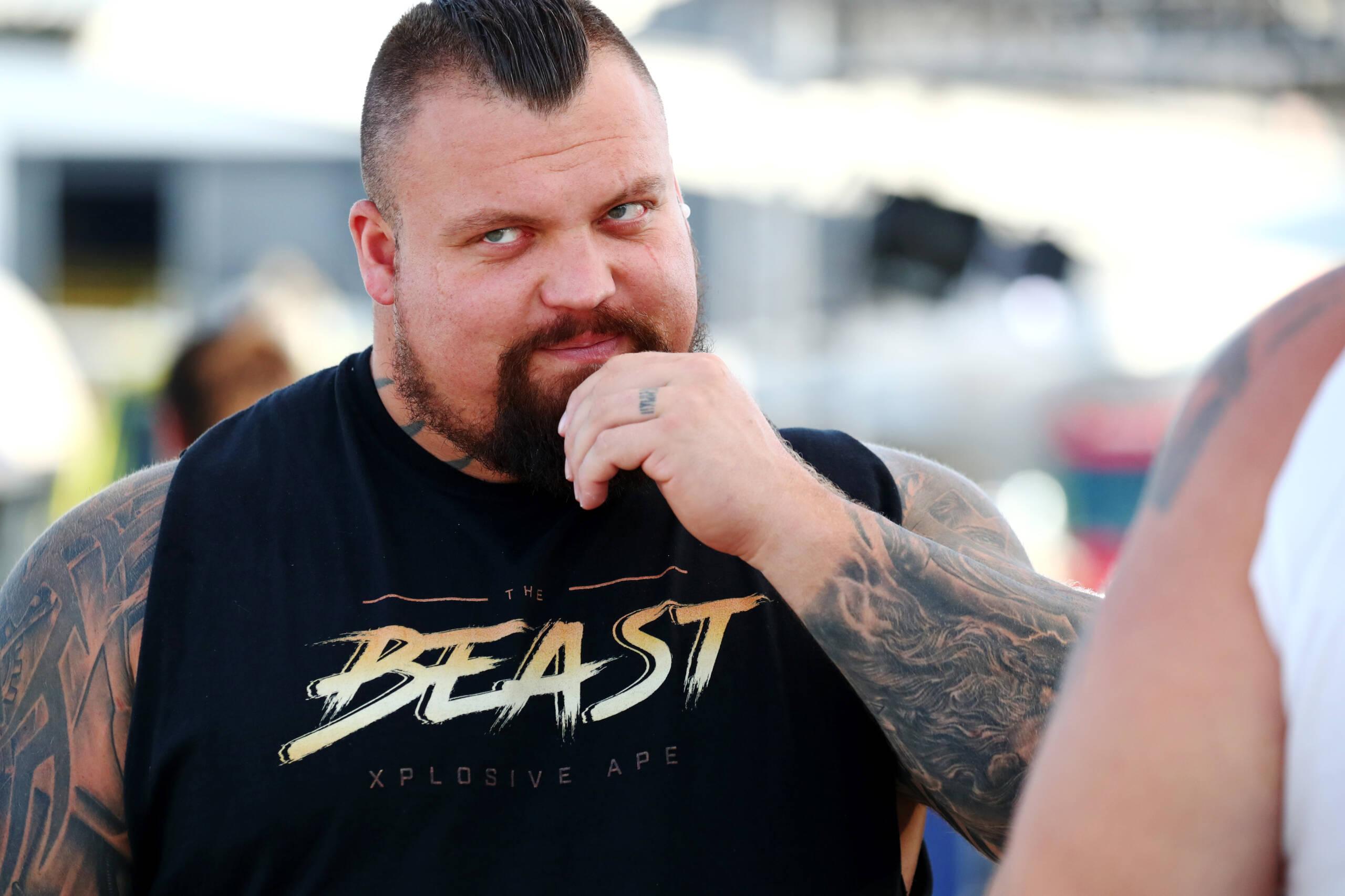 Eddie Hall: Strongman wagt den Fitnesstest der US Navy Seals