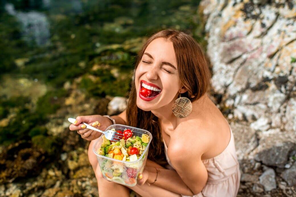 Essen kann glücklich machen
