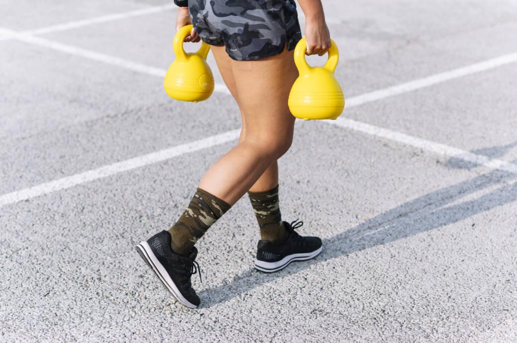 """""""Farmers Walk"""" – effektive Übung für eine starke Rumpfmuskulatur"""